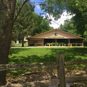 Indy Campership blog post - pic of CYO pavilion