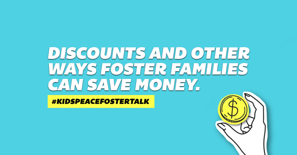 Ways foster families can save money | Foster Talk